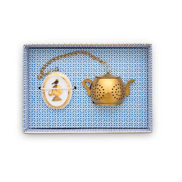 Tea Infuser Medaillon Royal White