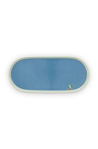 Plate Sugar & Creamer La Majorelle Blue 25x12cm
