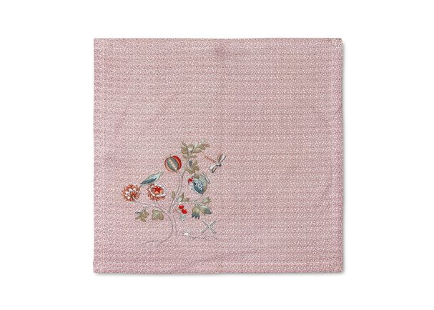 Tea Towel Spring to Life Pink Lacy 60x60cm