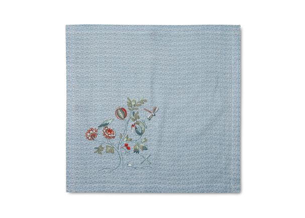 Tea Towel Spring to Life Blue Lacy 60x60cm