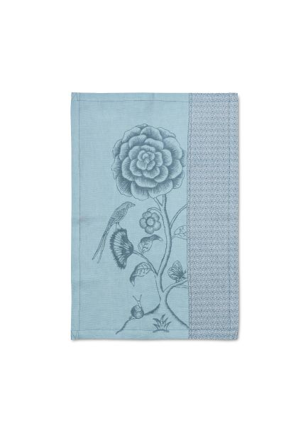 Tea Towel Spring to Life Blue Lacy 50x70cm