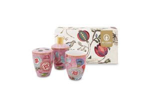 Set/3 Bathroom Accessories Spring to Life Pink