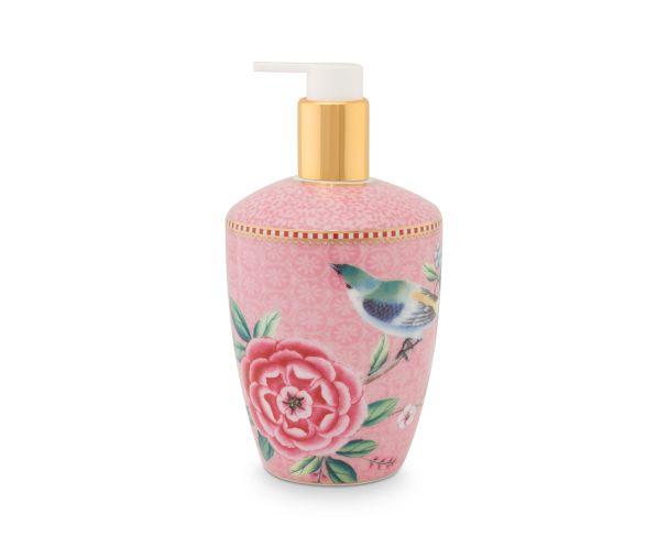 Soap Dispenser Floral Good Morning