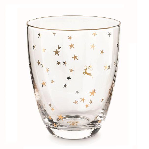 Pip Studio Water Glass Royal Christmas 360ml