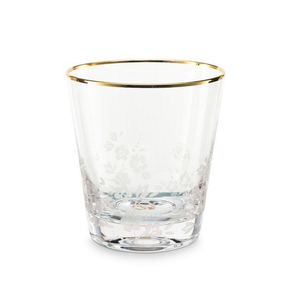 Water Glass Blushing Birds Clear 260ml