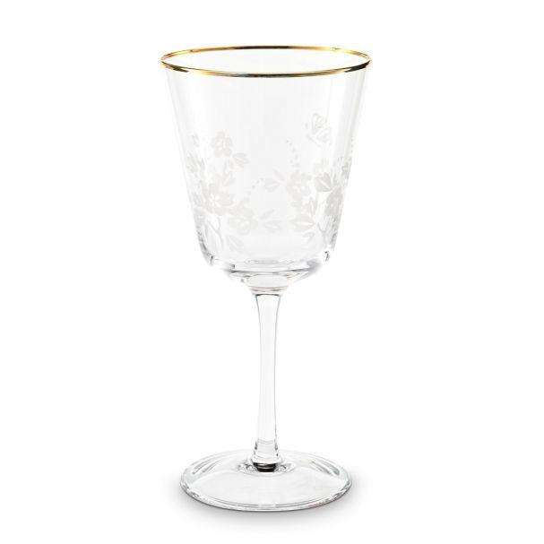 Wine Glass Blushing Birds Clear 250ml