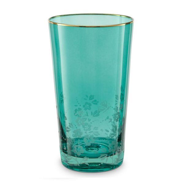 Longdrink Glass Blushng Birds Green 330ml