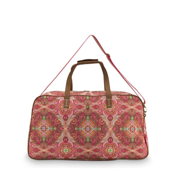 Pip Studio Large Moon Delight Red Weekend Bag