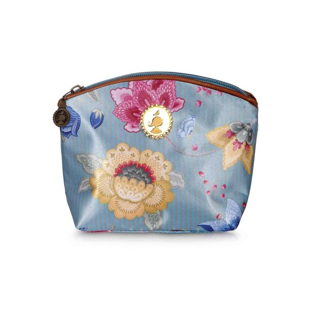 Pip Studio Cosmetic Bag Small Blue