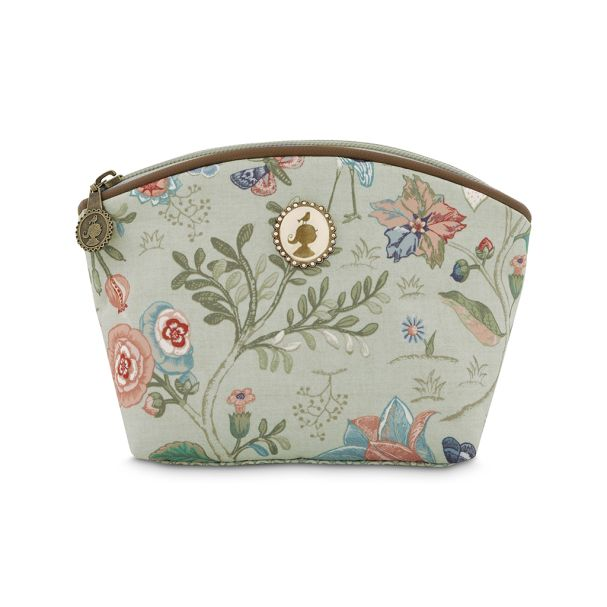 Cosmetic Bag Small Spring to Life Celadon