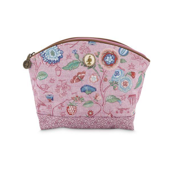 Cosmetic Bag Medium Spring to Life Pink