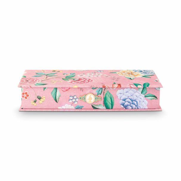 Good Morning Storage Box Small Floral Pink