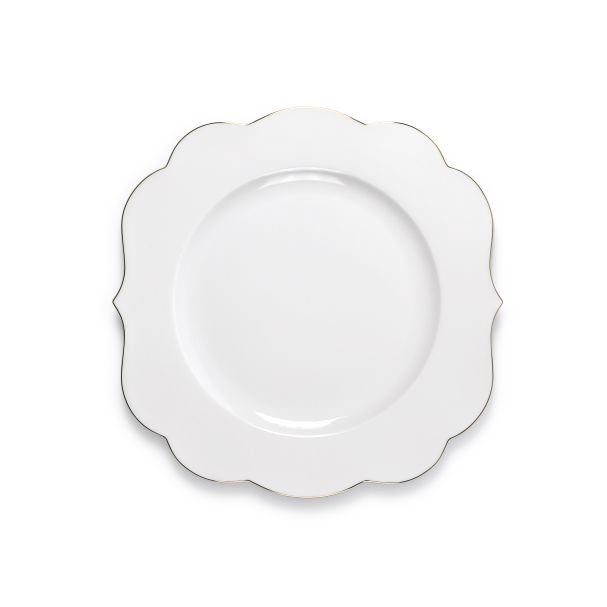 PiP Royal Plate White - 28cm