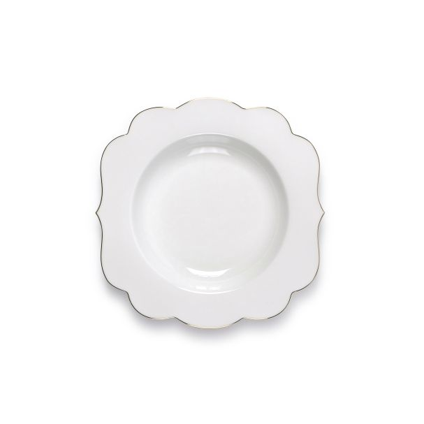 PiP Royal Soup Plate White