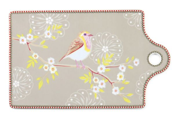PIP Studio cheese Plate Early birds Khaki
