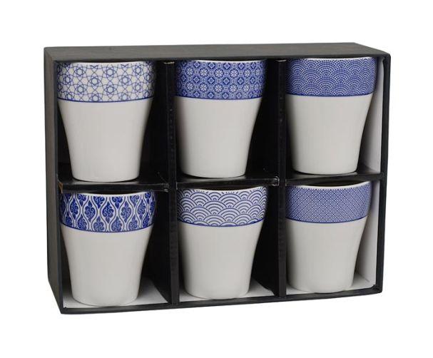 Nippon Blue Set of 6 Tea Cups