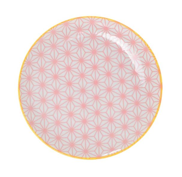 Tokyo Design Star Wave Plate 16x2.1cm Pink