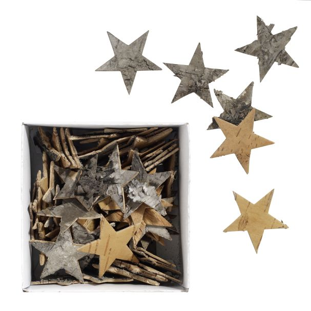 Nordal Confetti Bark Star Set 72