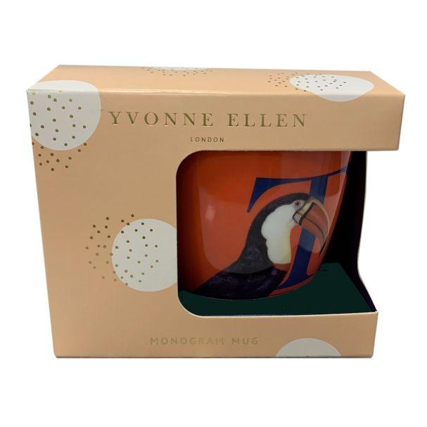 Yvonne Ellen Alphabet Mug Gift Box
