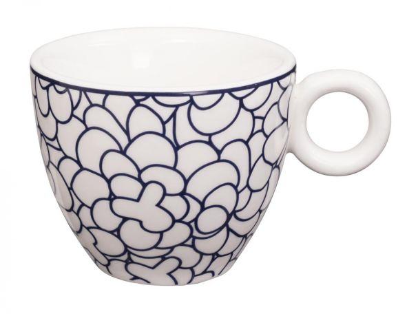 Bleu de'NÎmes Espresso Cup 6.5x5.3cm Leaf
