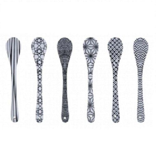 Nippon Black Spoon Set (set of 6)