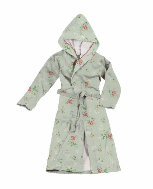 Granny Pip Bathrobe Green Small