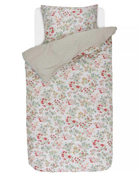 Pip Studio Jaipur Flower Pillowcase Khaki 50x75