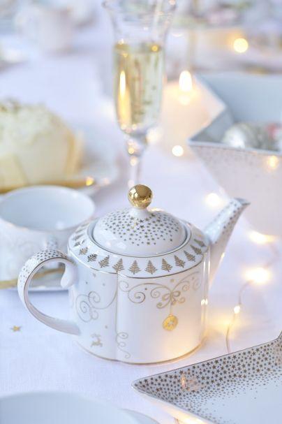 Pip Studio Teapot Small Royal Christmas 900ml