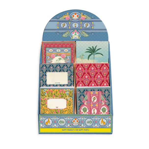 Pip Studio BTS Indian Festival Display Box With 24 Notebooks - A6