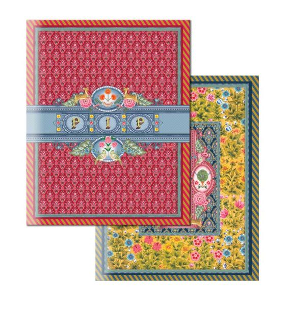 Pip Studio BTS Indian Festival Pack of 3 Exercise Books A5