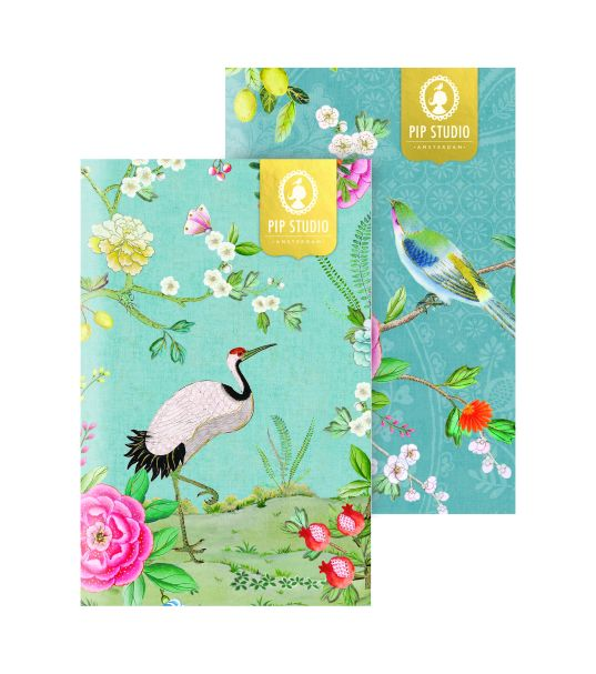 Pip Studio Good Morning Exercise Book Stitched A5 Pack/2