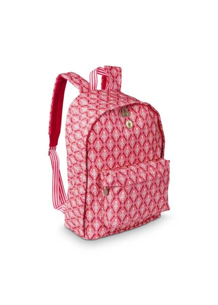 Pip Studio BTS Indian Festival Backpack Red