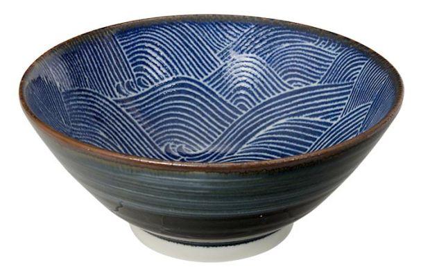 Tokyo Design Seigaiha Bowl 17.5x7.5cm