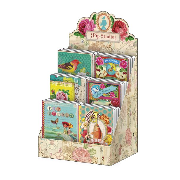 Pip Studio BTS 2015 Display box with 24 notebooks A6