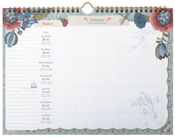Spring To Life Weekly Planner A4