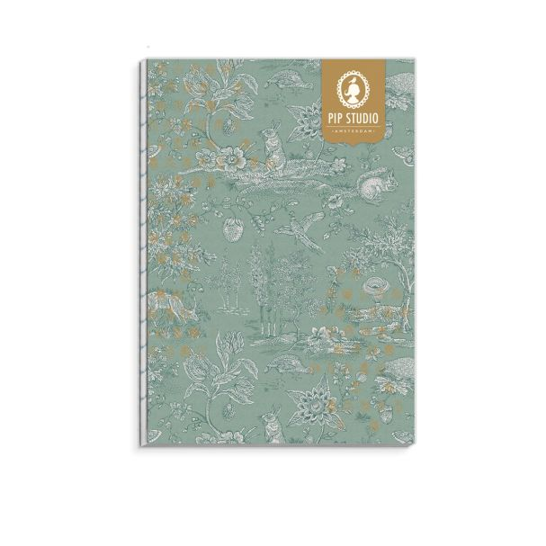 Pip Studio Hide and Seek Notebook A4 Backless