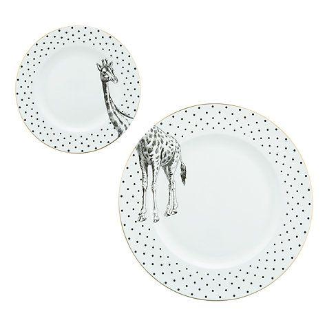 Yvonne Ellen Set Giraffe Plates