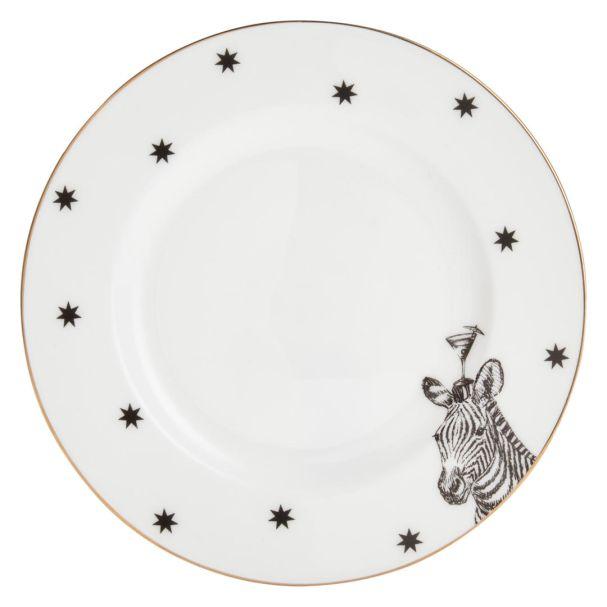 Yvonne Ellen Zebra Side Plate