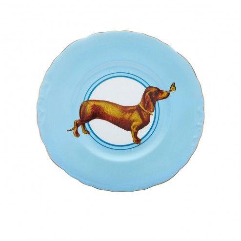 Yvonne Ellen Posh Puppy plate