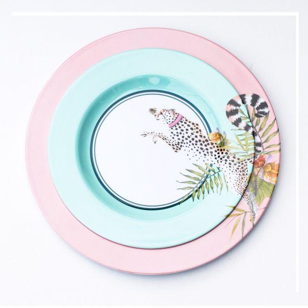 Yvonne Ellen Picnic Set of 4 Assorted Side Plates