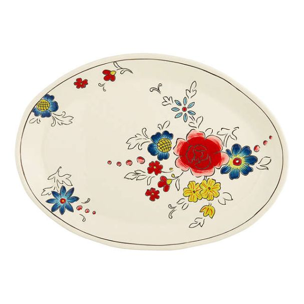 Molly Hatch Oval Serving Plate