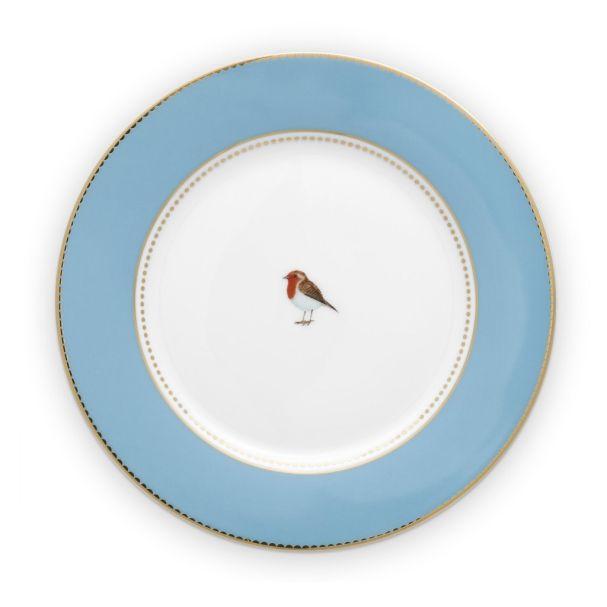 Love Birds Blue 21cm Plate