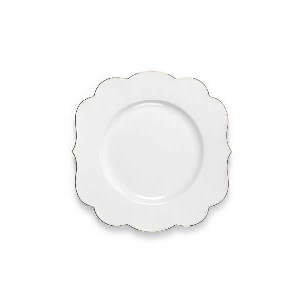 Royal White Plate 23.5 cm White