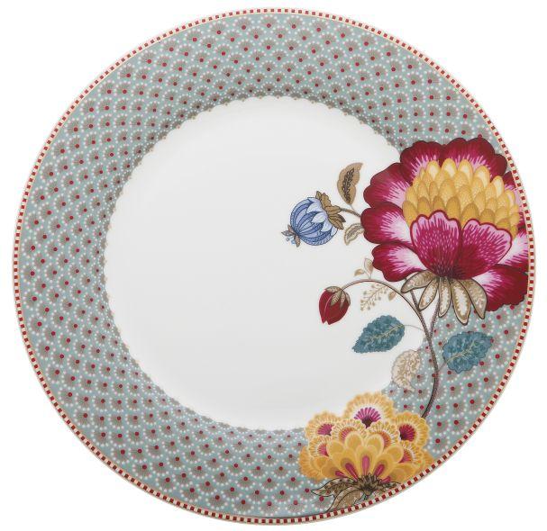 Plate Fantasy 26,5 cm Blue