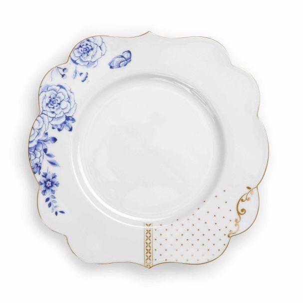 Pip Studio Plate 23,5 cm Royal White
