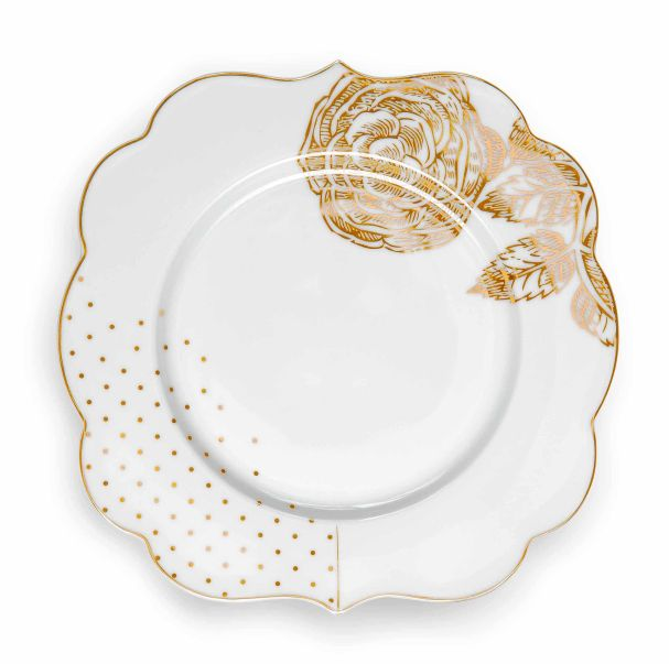 Pip Studio Plate 17 cm Royal White
