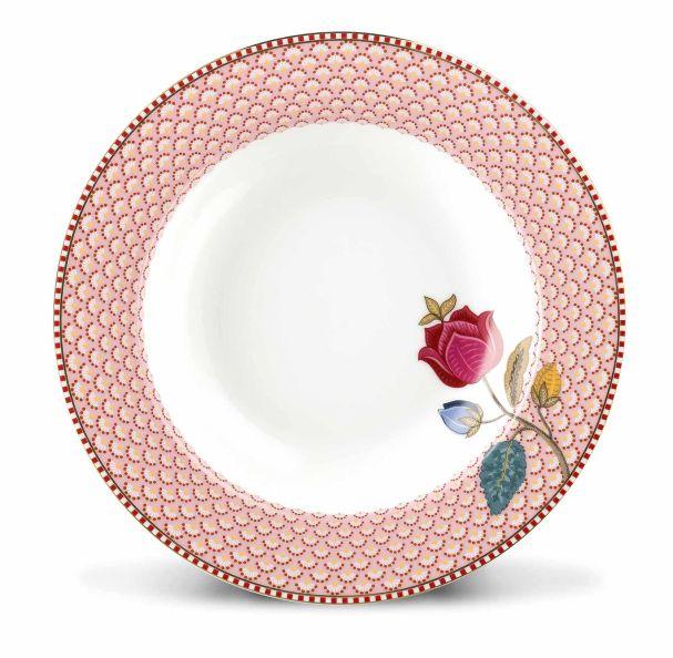 Pip Studio Soup plate Fantasy 21,5 cm Pink