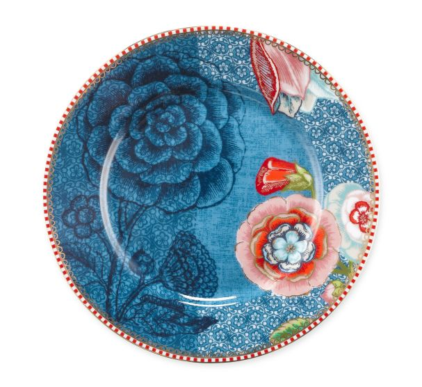 spring to life green 17cm plates