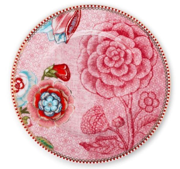 Pip Studio Pink Plate 17cm
