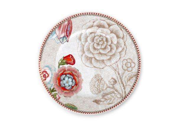 Pip Studio Spring to Life Cream Plate 17cm